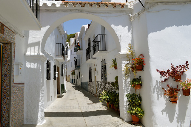 White village of Canillas de Aceituno